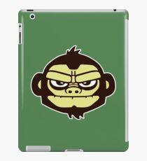 gorille cartoon tête humour iPad Case/Skin