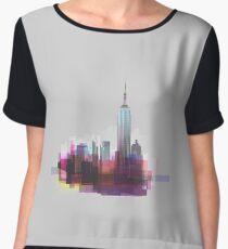 New york, NYC city ! Chiffon Top
