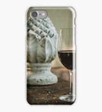Wine and Sculptures iPhone Case/Skin