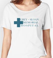 Grey Sloan Memorial Hospital Women's Relaxed Fit T-Shirt
