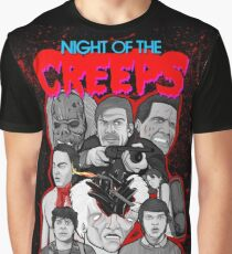 night of the creeps collage Graphic T-Shirt