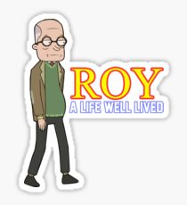 'ROY' (Rick and Morty) Sticker