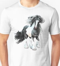Prince, Gypsy Vanner Horse Unisex T-Shirt