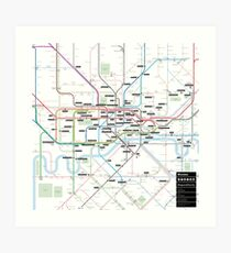 #tagsandthecity / London Art Print