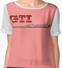 MK7 GTI 40 Years Chiffon Top