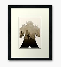 Nuclear 4 (No Text) Framed Print