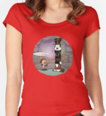 Big Trouble Makers in Little China Women's Fitted Scoop T-Shirt