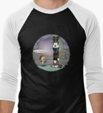 Big Trouble Makers in Little China Men's Baseball ¾ T-Shirt