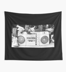 Boom Box Wall Tapestry