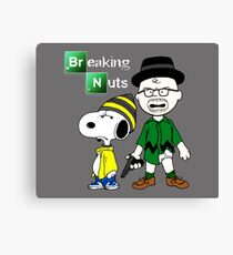 Breaking Peanuts Canvas Print