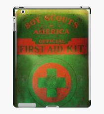 Boy Scout First Aid Kit iPad Case/Skin