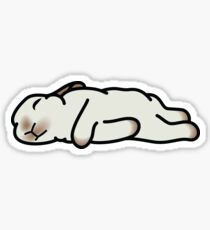 Sleeping Bunny Sticker
