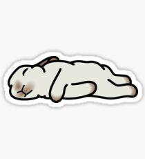 Sleeping Bunny Sticker