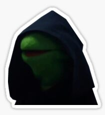 Dark Side Kermit Meme Sticker
