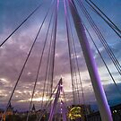 hungerford bridge by paolo amiotti