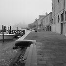 Misty Morning in Venice by Mark Baldwyn