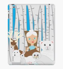 Mother Nature Winter Scene iPad Case/Skin