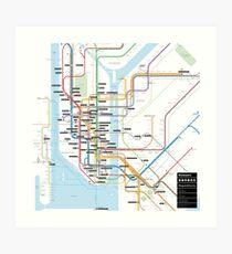 #tagsandthecity / New York Art Print