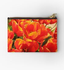 Orange Tulips Studio Pouch