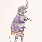 Zumba Elephant by Gillian Cross