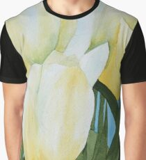 Yellow Tulips Graphic T-Shirt