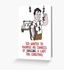 Killer Christmas Cards - Ted Bundy Greeting Card