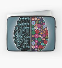 Left and right brain Laptop Sleeve