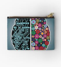 Left and right brain Studio Pouch