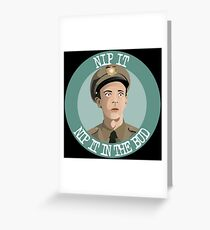 Andy Griffith- Barney Fife Greeting Card