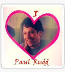 I Heart Paul Rudd Sticker