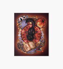 Black Cat Magic Art Board
