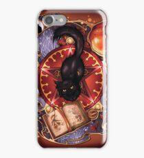 Black Cat Magic iPhone Case/Skin