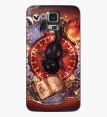 Black Cat Magic Case/Skin for Samsung Galaxy