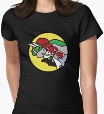 Horned Warrior Friends ROLLER DERBY (Unicorn, Narwhal, Rhino, Triceratops) T-Shirt