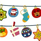 Christmas Ornaments by Sonia Pascual