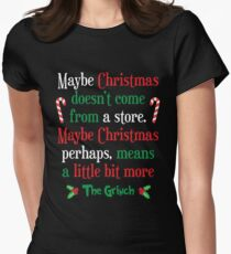 Maybe Christmas Women's Fitted T-Shirt