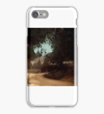 An English Village circa 1910 iPhone Case/Skin