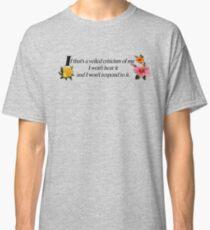 Veiled criticism Classic T-Shirt