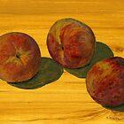 Peach Trio by bernzweig