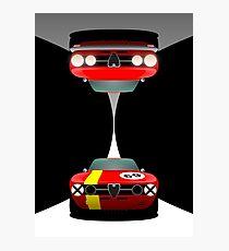 Alfa Romeo GT Veloce Road & Race Photographic Print