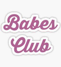 Babes Club Sticker