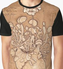 Venus Fly Trap Heart Graphic T-Shirt