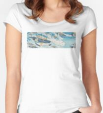Jetpack Penguins Women's Fitted Scoop T-Shirt