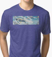 Jetpack Penguins Tri-blend T-Shirt