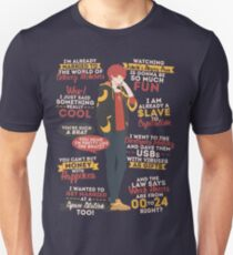 707 Quotes Slim Fit T-Shirt