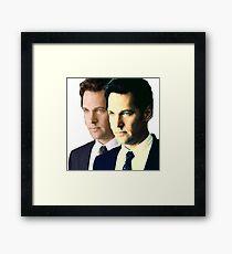 Double The Paul Rudd Framed Print