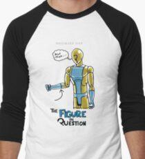 #005: Bleed Over Men's Baseball ¾ T-Shirt