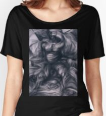 Seated Figure Women's Relaxed Fit T-Shirt