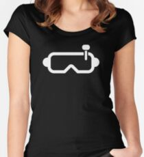 FPV goggles Women's Fitted Scoop T-Shirt