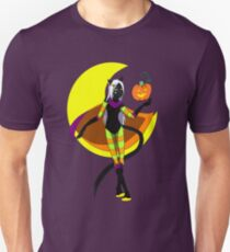 Halloween Magic Cat Unisex T-Shirt